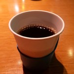 かば田てんとまる - ドリンク写真:ホットコーヒー(^^♪ムリョウウデスw