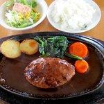 ミスタームーン - 料理写真:ハンバーグステーキランチ!