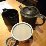 104394177 - 蕎麦湯割りの焼酎