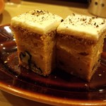 iitoki - 追加注文したキャロットケーキ