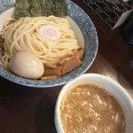 ふえ木 - つけ麺(750円)+味玉(100円)