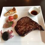 展望・星屑レストラン ガイア - 富士山麓牛赤身ステーキ