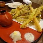 チカイチ - 山菜天麩羅