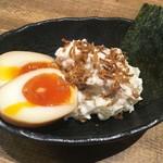 串焼 マルワ - 「ポテサラくん」350円也。