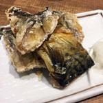 串焼 マルワ - 「鯖の竜田揚げ」390円也。