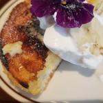 Stall Restaurant - クリームブリュレパンケーキ(900円)