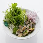 ベトナム料理 ふぉーの店 - たっぷりアサリのふぉー