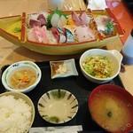 魚家 - 料理写真:刺身定食
