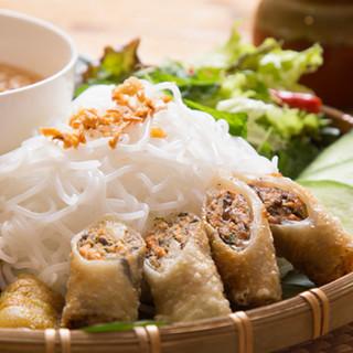 自慢料理その3、ベトナムの国民食「ブンチャーハノイ」