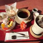 さくら茶屋 - さくら三昧盆の全貌