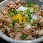 らー麺 とぐち - チャーシュー丼