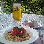 マハロカフェ リストランテ - 暖かな日のテラスランチ