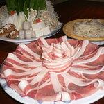 正家 - 味豚(みとん)鍋 ☆前日までに要予約☆ちょっぴり辛みそ味鍋
