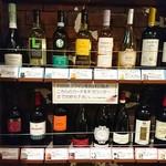 ヴェネツィア酒場 Ombra - セルフのワインカード