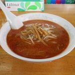 かつ平 - 鉄火麺(小辛、500円)