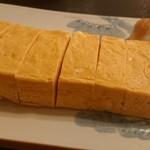 蕎吟 - ファフィ卵のだし巻き