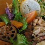 ララ ナチュラル - 野菜丼アップ