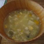 ララ ナチュラル - 雑炊っぽいスープ