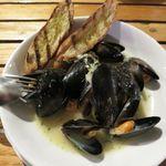 チャタンハーバーブルワリー&レストラン - ムール貝のワイン蒸し