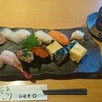 寿司処おおたき - 料理写真: