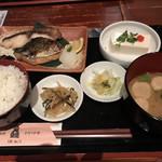 うお・みっつ - 【焼き魚定食セット】¥900