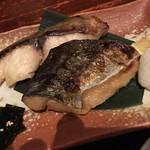 うお・みっつ - 2種類、焼き魚が食べられます