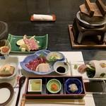 ふくみ山荘 - 夕食