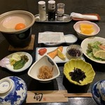 ふくみ山荘 - 朝食