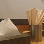 八乃木 - テーブルセット