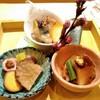 ひらまつ - 料理写真:八寸(鮑、鳥貝、燻製)