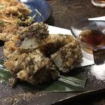 沖縄ダイニング ゆんたく - もずくの天ぷら