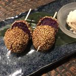 沖縄ダイニング ゆんたく - 紫いも胡麻団子