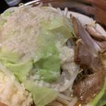 高田 煮干しと焼き味噌 豆亭 - 近くでみると、カロリーが気になる汗