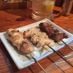 焼き鳥 まる - もも・なんこつ・砂肝 宮崎県銘柄鶏 さつま純然鶏
