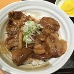 とんかつや漫遊亭 - イベリコ豚丼
