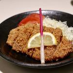 104446419 - 松阪豚のカツレツ 八丁味噌ソースで
