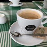 バラッカ・デル・ソーレ - 食後のコーヒー