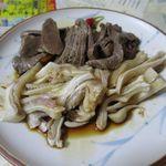 おでん東大 - 料理写真:ミミガー&マメの刺身