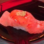 104448264 - 神戸牛ステーキ寿司 NEGA Prime Kobe beef 特上 大トロ 1,600円