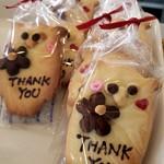 カフェ シブル - 料理写真:可愛いクッキー見つけた☆