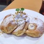 湘南パンケーキ - リコッタマスカルポーネパンケーキ