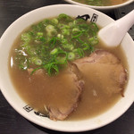 長浜ラーメン 風び - ラーメン(やきめし定食A)