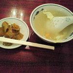 10446084 - スープとザーサイ(2011年11月訪問時)