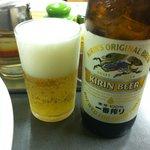 三幸苑 - やっぱりビール
