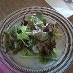リード カフェ - ランチのサラダ