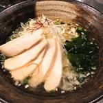 香氣 四川麺条 - 鶏そば(740円)