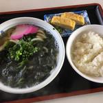 さぬき一番 - うどん定食。¥450-安い!