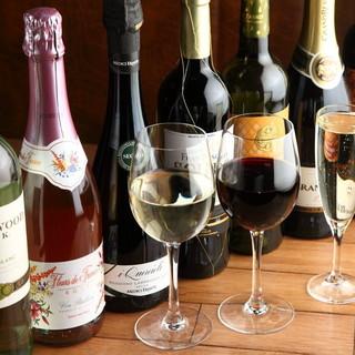 ◇ドリンク全品550円◇ボトルワインもALL2090円♪