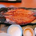 魚可津 - さばの醤油漬け焼