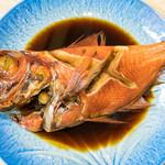 なかがわ - 金目鯛は姿煮